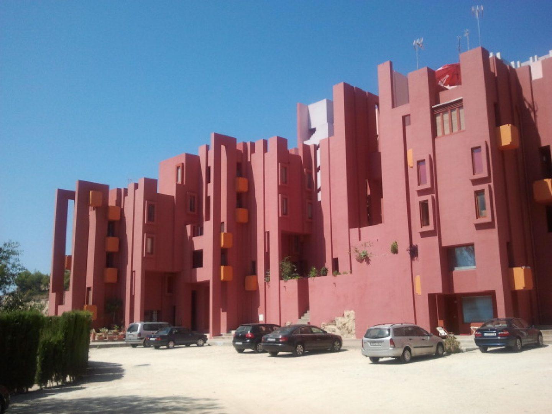 Ricardo Bofill - Muralla Roja Calpe
