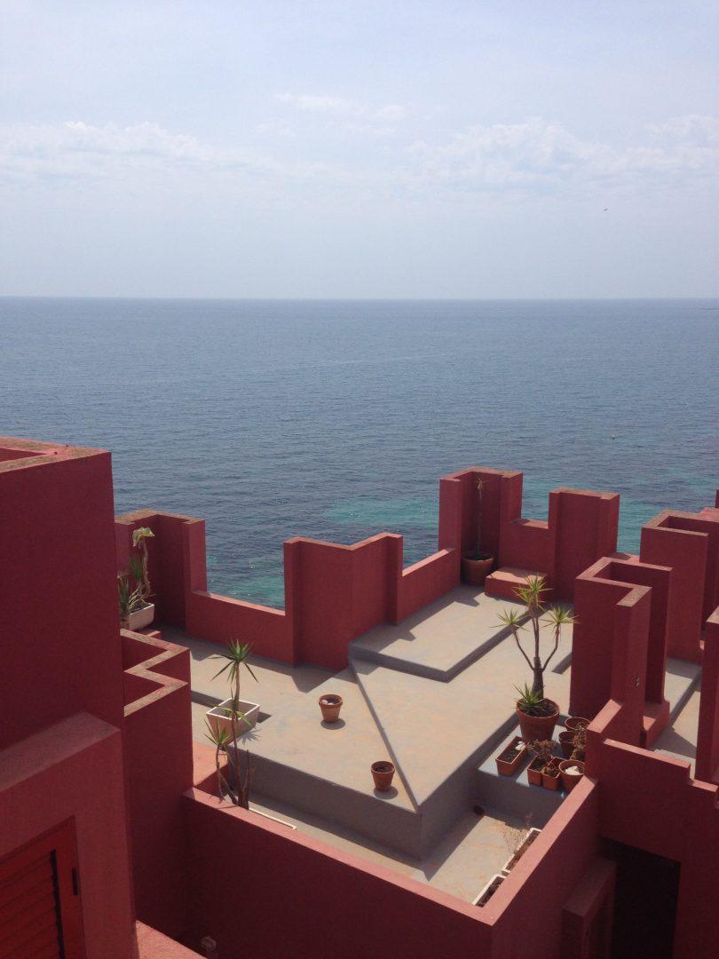 Muralla Roja Calpe